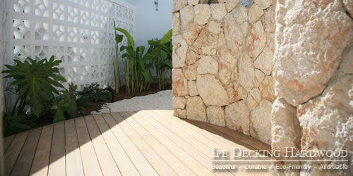 Outdoor Garapa deck